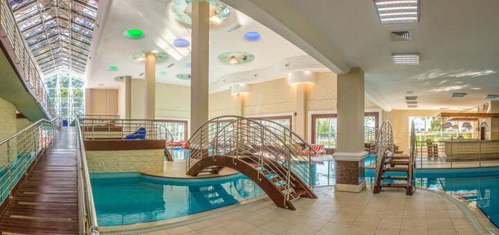 От 3 дней с питанием, SPA и комплексом услуг в «Rixos-Prykarpattya Resort 5*» в Трускавце