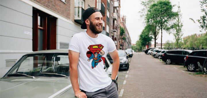 Скидка 15% на мужские и женские футболки!