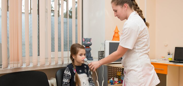Обследование у ЛОРа для детей и взрослых в клинике «Бэби лор»