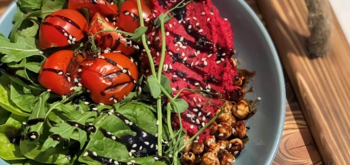 Скидка 50% на меню кухни в веганском кафе «Vegan Cafe»