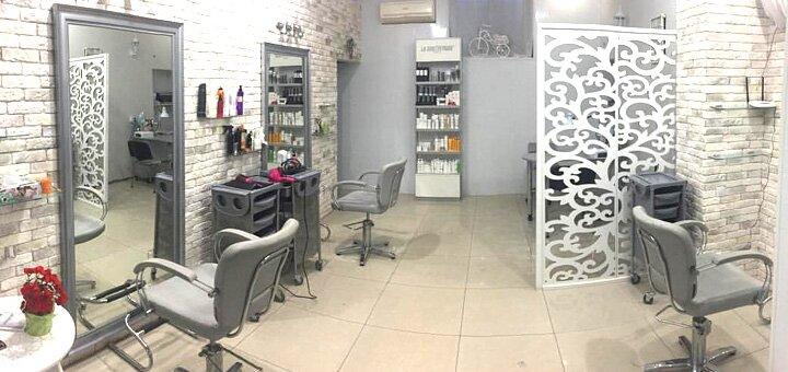 Кератиновое восстановление, «Botox» для волос со стрижкой кончиков и укладкой в «Go Studio»