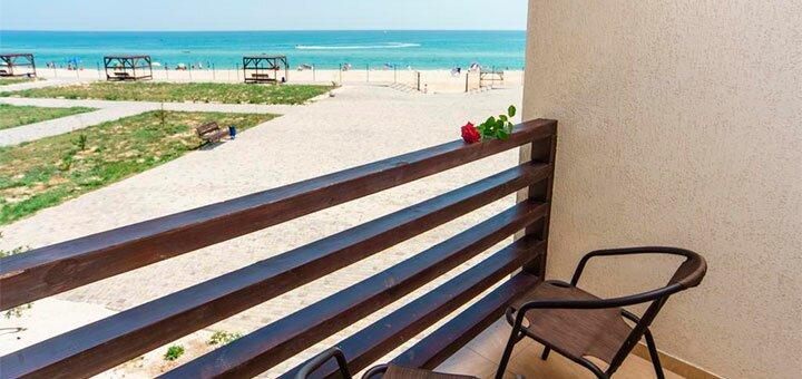 От 3 дней отдыха в июле в комплексе «Egoist Sea Resort Hotel» на побережье Азовского моря
