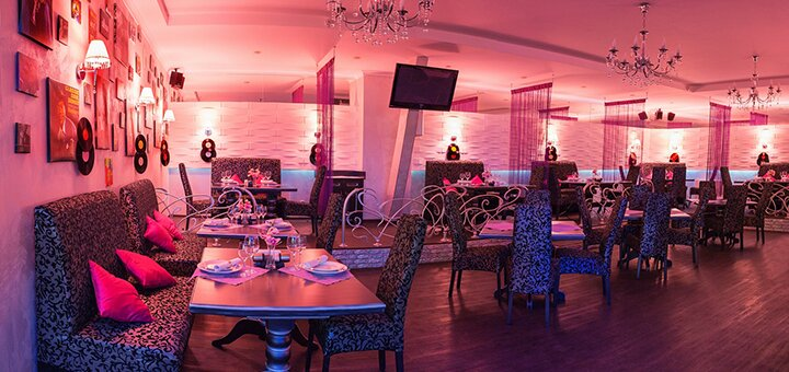 Скидка 50% на всё меню кухни и алкогольные коктейли в ресторане «Soul Time»