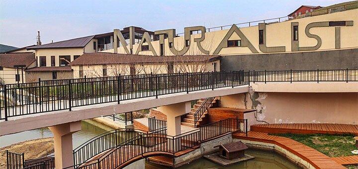 Аренда шезлонгов и бунгало у бассейна в комплексе «Naturalist» у реки под Киевом