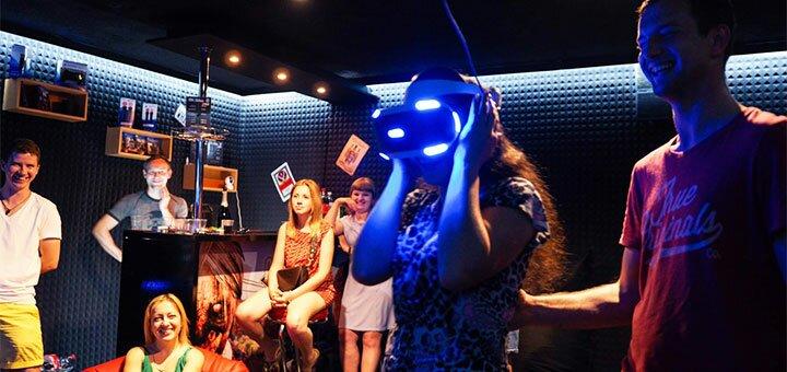 Скидка 50% на игры в клубе виртуальной реальности VR «AltzGamer»