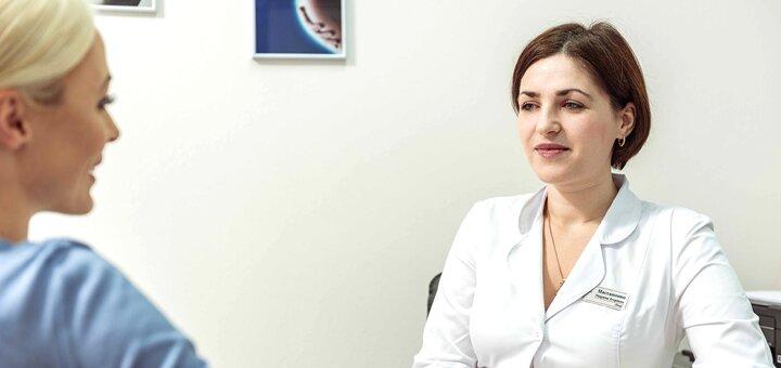 Консультация и УЗИ-обследование у одного из 7 специалистов в сети центров «Гармония Здоровья»
