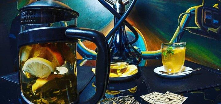 Скидка 50% на все меню кухни, коктейли, чай, кофе и кальяны в «Shantaram Gold Bar»