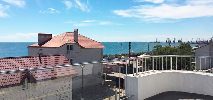 От 3 дней отдыха в сентябре в гостевом доме «White House» в Бердянске на берегу Азовского моря