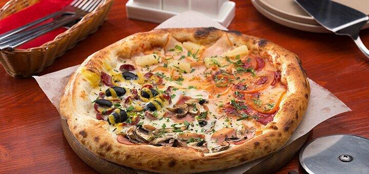 Скидка 40% на все меню кухни и бара в «Al Forno Pizzeria»