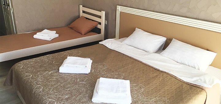 От 3 дней отдыха в сентябре и октябре с трехразовым питанием в отеле «Family» в Затоке