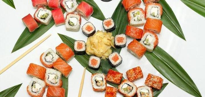 Скидка 50% на сеты в суши-баре «Sushi N Rolls»