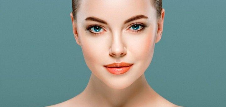 14 этапная комбинированная чистка лица с гликолевым пилингом от косметолога Алины Поддубной