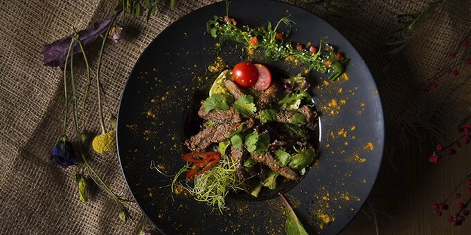 Сертификат номиналом 400 грн на все меню кухни в ресторане «VV22»