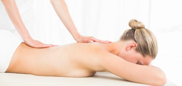 До 7 сеансов массажа спины курса «Королевская осанка» в студии массажа «Красотка»