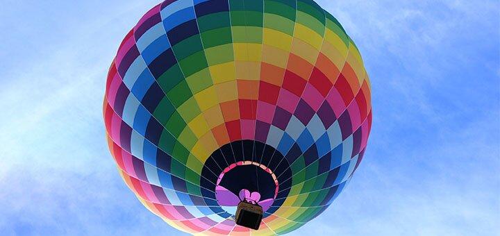 Скидка до 20% на полет на воздушном шаре от компании «Впечатления в подарок»