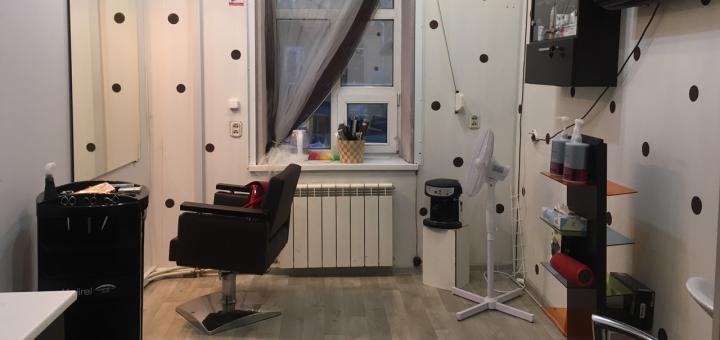 Окрашивание шатуш, балаяж, мелирование со стрижкой и укладкой в «Beauty room Kеtya Vetrova»