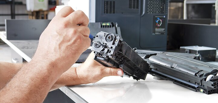 Скидка 40% на заправку картриджей для лазерных принтеров в сервисном центре «Бувис»