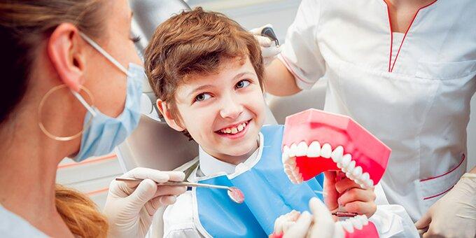 Адаптационный визит к детскому врачу-стоматологу в стоматологической клинике «Giorno Dentale»