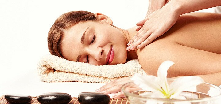 Релакс-програма з масажем в центрі здоров'я та масажу