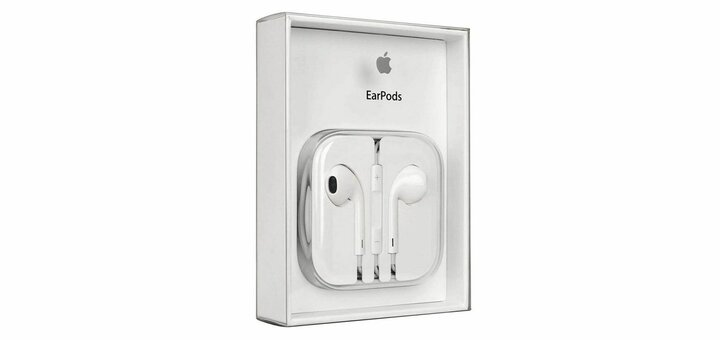 Скидка 36% на наушники Apple EarPods от «Vtrende VV»