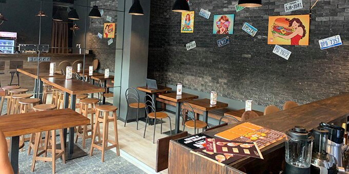 Скидка 40% на все меню доставки в техасском кафе «Coffee Grill 88»