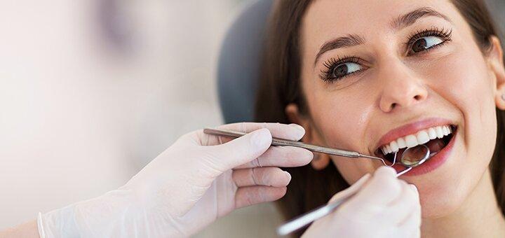 Лікування карієсу з установкою фотополімерної пломби в стоматологічнному кабінеті Ірини Нікітіной
