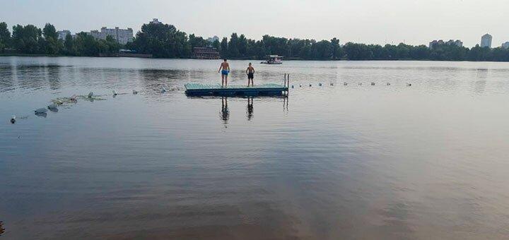 Аренда беседки и катание на водных лыжах или таблетке на базе отдыха «Изумрудная» на Днепре