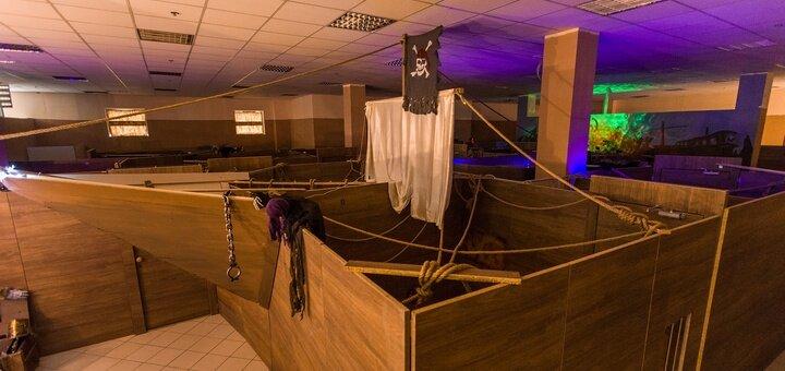 2 часа игры для 14 деток в квест-комнате «Корабль-Призрак»