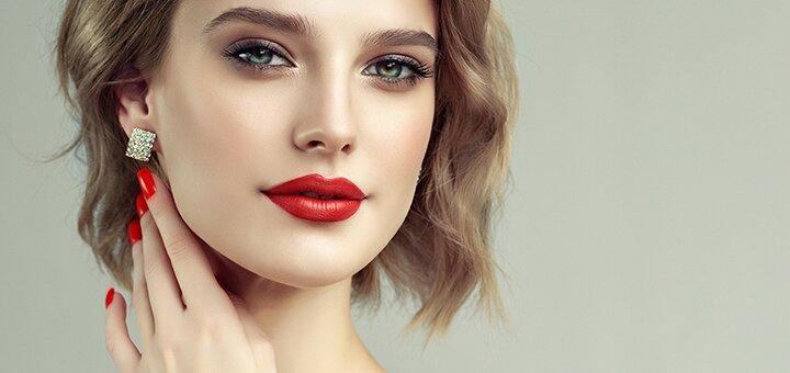 Скидка 66% на увеличение губ или заполнение носогубных складок в кабинете Елены Кузьменко