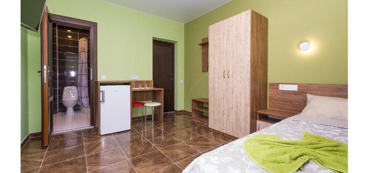 Скидка 15% на проживание в мини-отеле «Komilfo» в Затоке