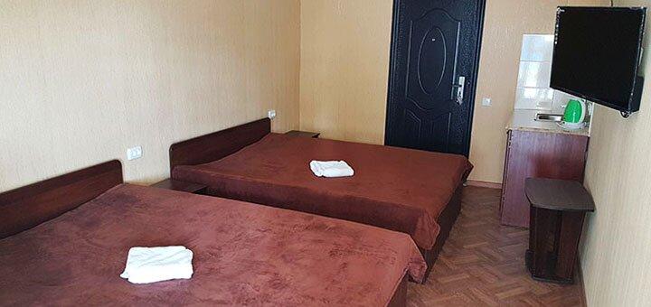 От 7 дней отдыха в августе в отеле «Пляжный отель» в Коблево на берегу Черного моря