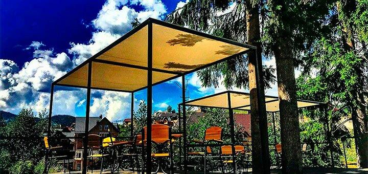 От 3 дней отдыха осенью с питанием в отеле «Bukville» в Буковеле