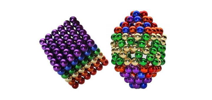 NeoCube в боксе Silver 216 шариков цветной от «Vtrende VV»