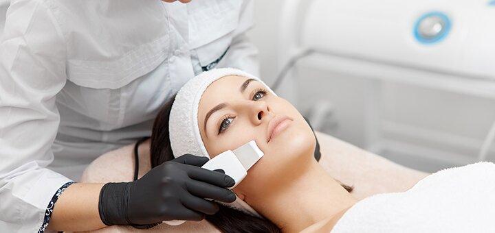Комплексная чистка лица в салоне аппаратной косметологии «Lady Luxe»