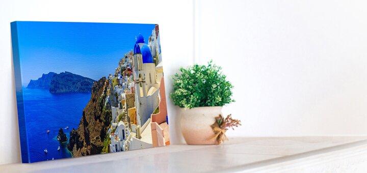 Печать изображений на холсте различных форматов и галерейная натяжка от мастерской «Позитон»