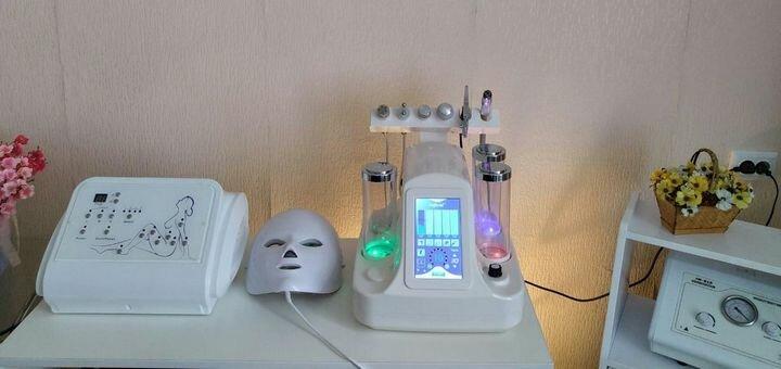 Скидка до 70% на ультразвуковую чистку лица с альгинатной маской в студии коррекции фигуры