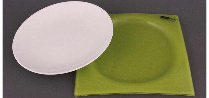 Скидка 50% на тарелку на подставке РHILOSOPHY от «Стиль Вкуса»