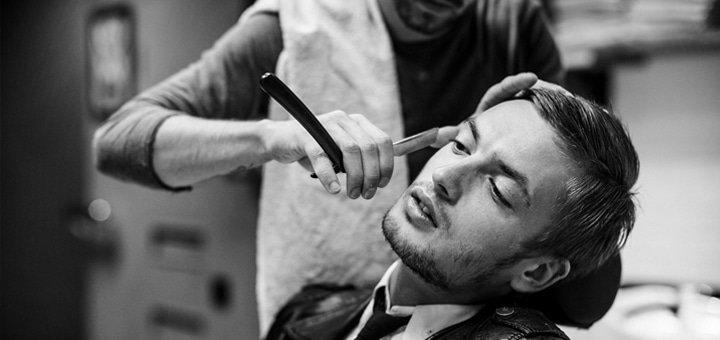 Мужская стрижка и моделирование бороды в барбершопе «ГАРАЖ»!