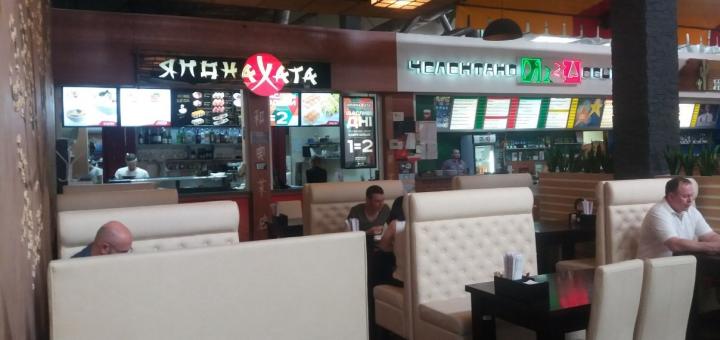 Скидка 40% на суши-сеты с доставкой и самовыносом в сети ресторанов «Япона Хата»