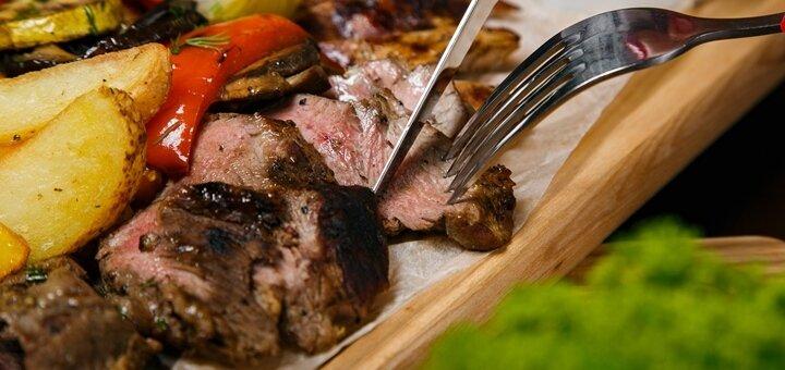 Знижка 50% на все меню кухні у ресторані «TheМ'ясо»