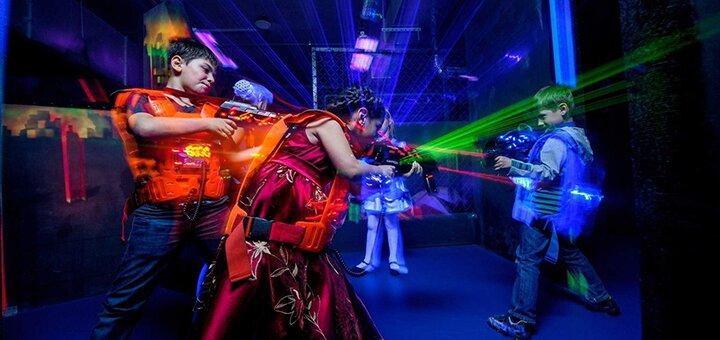 До 60 минут игры в лазертаг в любой день недели для взрослых и детей в ТРЦ «SkyMall»