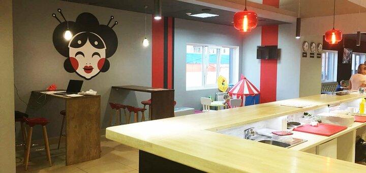 Скидка 50% на килограммовый сет «Джеки Чан» от сети кафе-магазинов «Суши Сет»