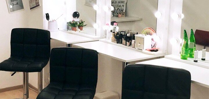 Коррекция и окрашивание бровей в салоне «BeautyPROstudio»