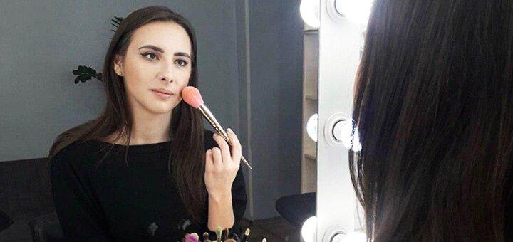 До 4 индивидуальных занятий «Сам себе визажист» в салоне «BeautyPROstudio»