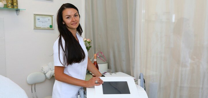 Лазерный карбоновый пилинг лица, шеи, декольте или спины в салоне «Gladko-Sladko»