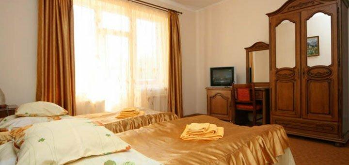 От 4 дней отдыха и оздоровления в отеле «Гортензия» в Поляне на территории санатория «Поляна»