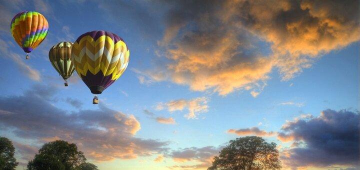 Скидка до 56% на полеты на воздушном шаре от авиакомпании «АсАвиа Украина»