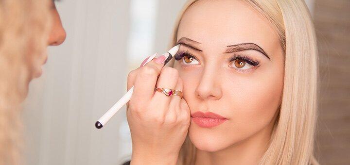 Перманентный макияж век, губ или бровей на выбор от мастера Нели Мисюры