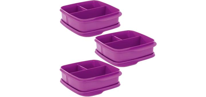 Скидка 44% на контейнер «Школьник» (550 мл), 3 штуки от «Tupperware»