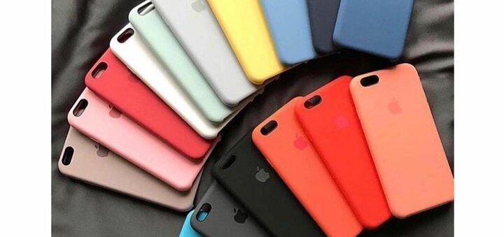 Скидка 50% на чехлы Silicone Case для iPhone от интернет-магазина «Грейпл»